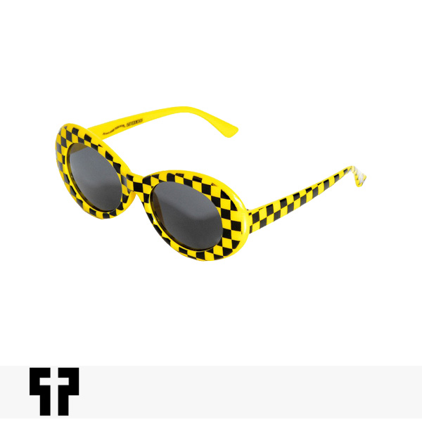 PETALS AND PEACOCKS NEVERMIND SUNGLASSES | TAXI CAB / ペタルズアンドピーコックス サングラス