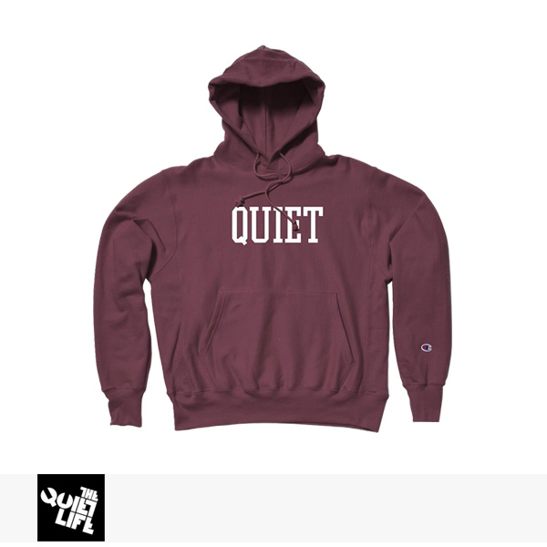 2017 HOLIDAY THE QUIET LIFE CHAMP PULLOVER HOOD | CARDINAL RED / クワイエットライフ パーカー