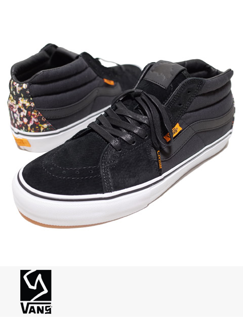 "VANS SYNDICATE × CIVILIST SK8-MID PRO ""S"" FLASCHEN 