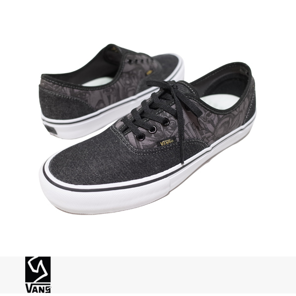 """VANS SYNDICATE AUTHENTIC """"S"""" MISTER CARTOON 