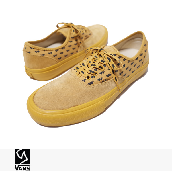 "再入荷!VANS SYNDICATE × WTAPS AUTHENTIC ""S"" 