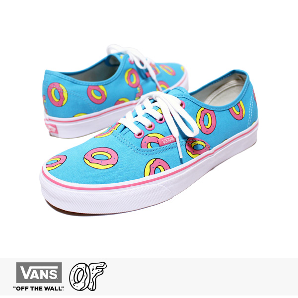 VANS AUTHENTIC OF DONUT SCUBA BLUE (ODD FUTURE) / バンズ