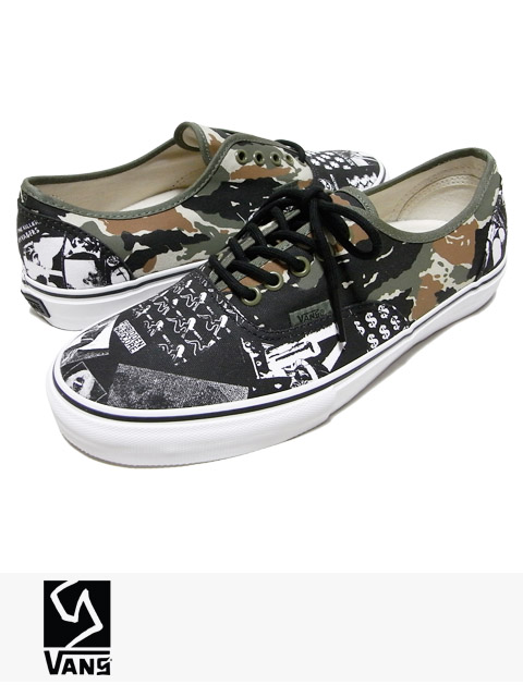 "VANS SYNDICATE AUTHENTIC ""S"" CHINA GIRL SUMMER / バンズ シンジケート"