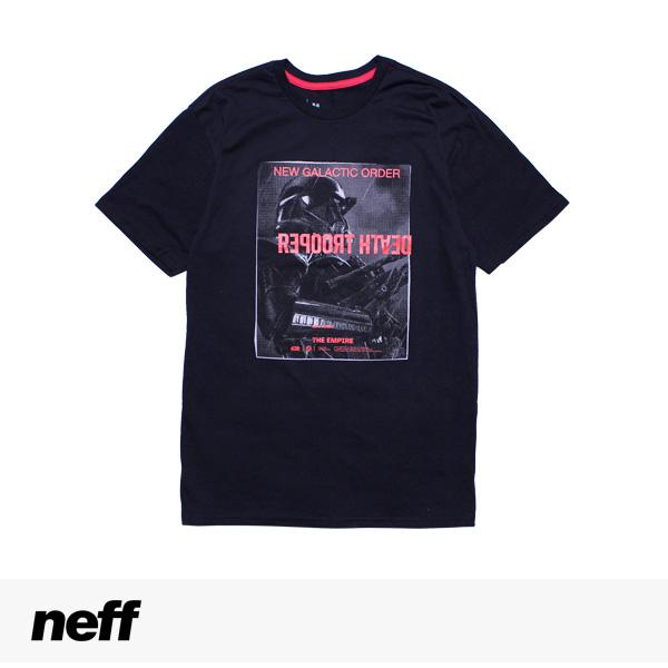 NEFF × STAR WARS NEW GLACTIC ORDER TEE   BLACK / ネフ Tシャツ
