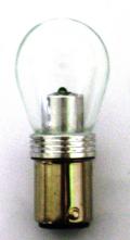 LED電球タイプバルブ S25タイプ シングル 12V/24V共用 スーパークリア