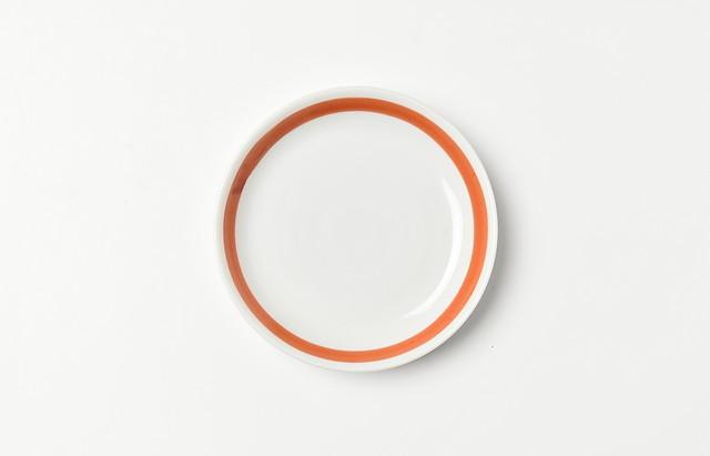ほたる窯 渕朱3.5寸皿