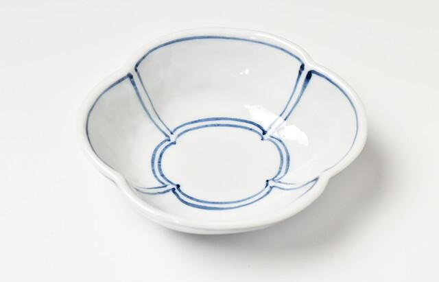 ほたる窯 呉須窓モッコ鉢