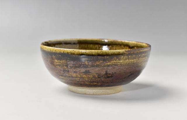 杉本寿樹 鉄彩丸小鉢(4.5寸)