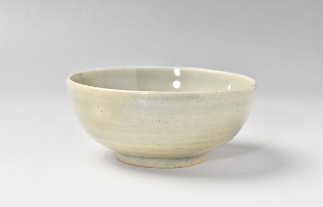 杉本寿樹 栗灰釉丸小鉢(4.5寸)