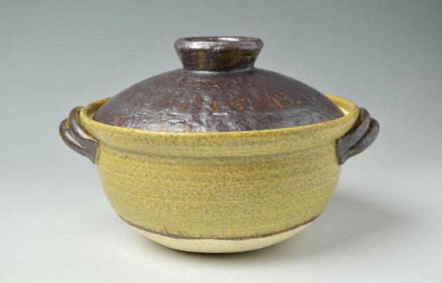 杉本寿樹 黄瀬戸豆腐鍋【Y】