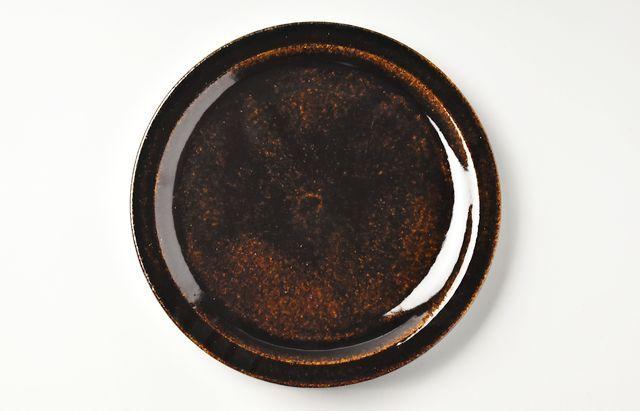 杉本寿樹 飴釉ミート皿(予約品)