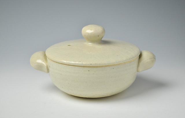 杉本寿樹 長石釉ロール土鍋