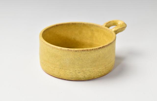 小川佳子 耐熱 丸オーブンパン(小)黄