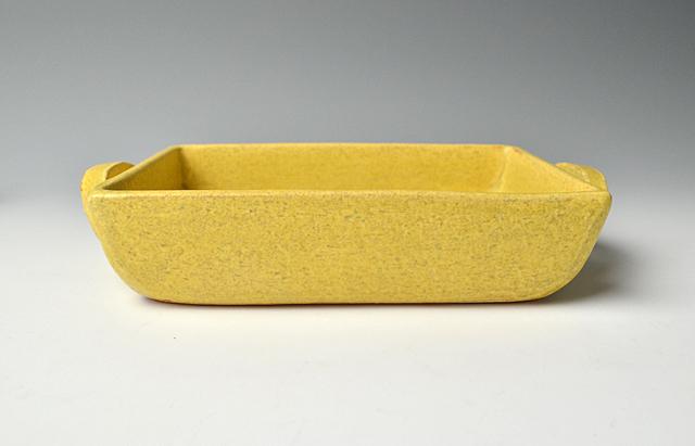 小川佳子 耐熱 角オーブンパン(大)黄