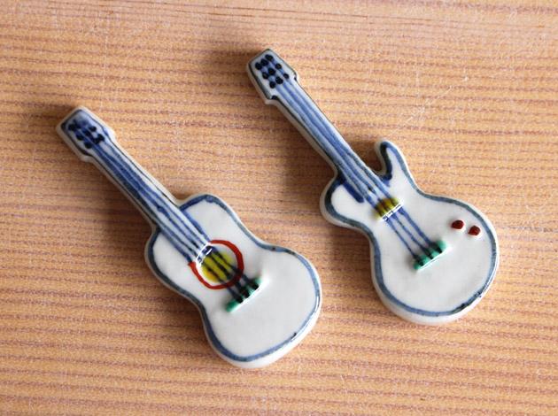 重田良古 箸置き 楽器
