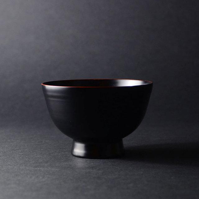 漆器 能登飯碗(黒) 作家「赤木明登」