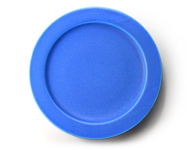 和食器 ブループレート(8寸) 作家「東一仁」