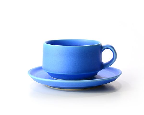 和食器 ブルーカップ&ソーサー 作家「東一仁」