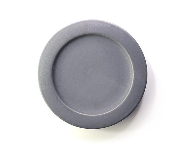 和食器 ブラックプレート(7寸) 作家「東一仁」