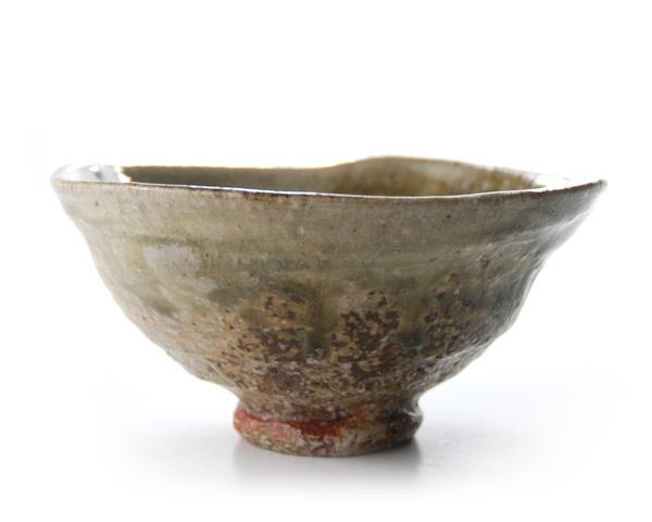 伊賀灰釉ご飯茶碗 作家「新学」