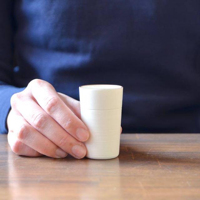 Membrane.series Cup(白) 作家「田中雅文」