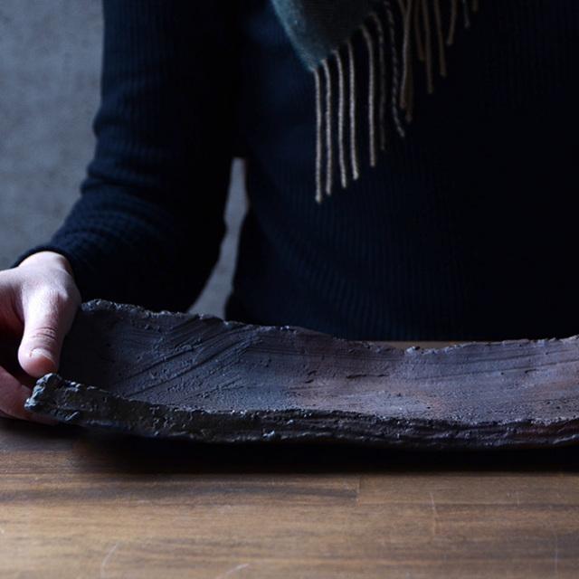 和食器 南蛮長方皿 作家「川淵直樹」