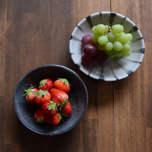 和食器 お試しセット 長石釉・鼠志野楕円鉢セット 作家「佐々木好正」
