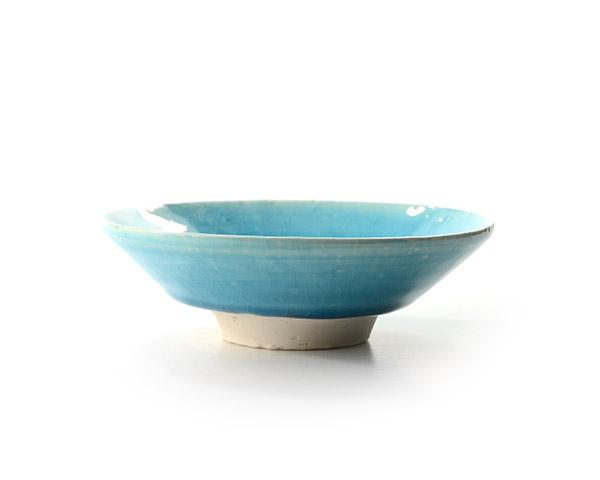 和食器 トルコブルー平鉢(小) 作家「荒木義隆」