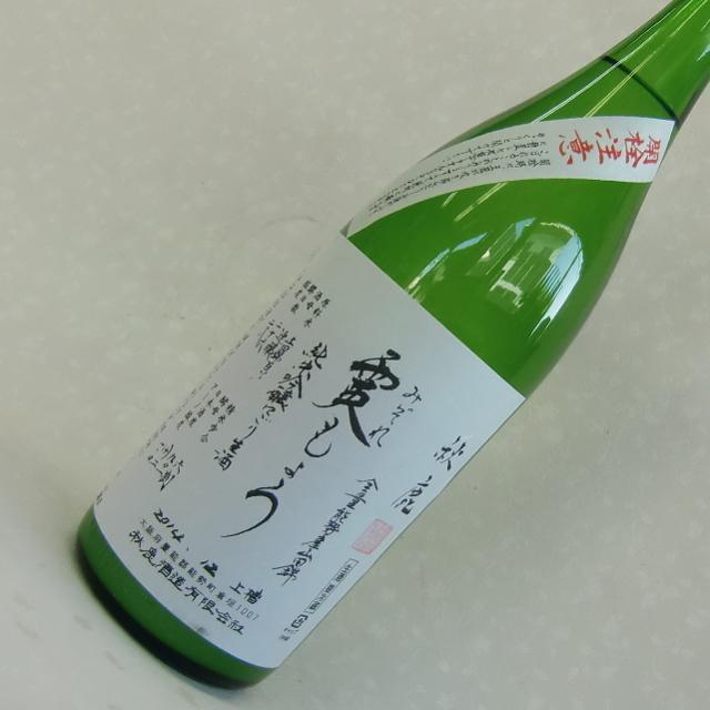 秋鹿 霙もよう 純米吟醸生原酒 活性にごり酒 1800ml