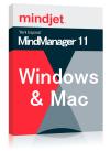 MindManager 11 (Win 11 & Mac 10 バンドル) 日本語 アップグレード シングル永続ライセンス CD版