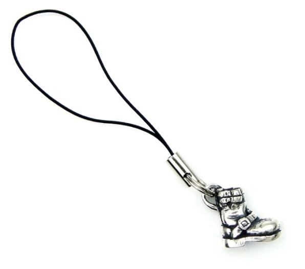 正規取扱 VASSER(バッサー) Biker Boot Phone Strap Silver(バイカーブーツ携帯ストラップシルバー)