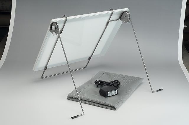 LED撮影用面光源(ソフトライト+専用台)briller-ブリエ-