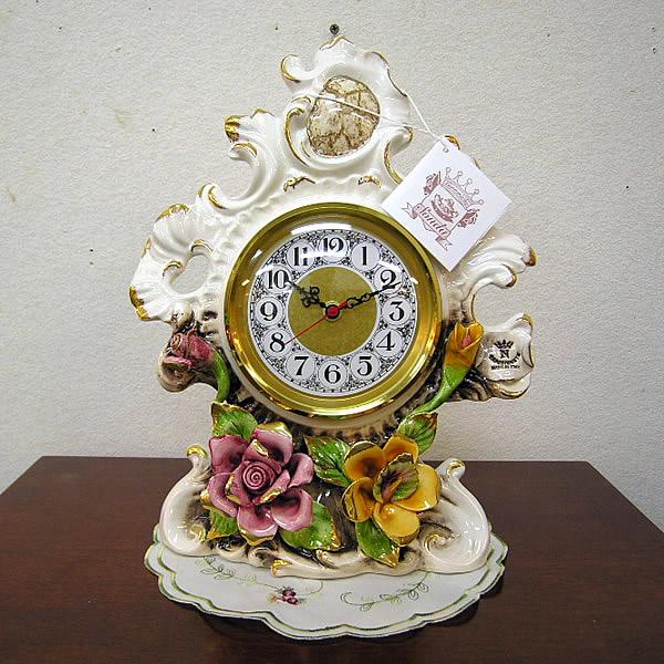 陶花置時計 1894OM