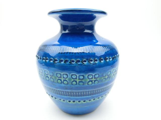 イタリア ビトッシ社製陶器 花瓶 F80