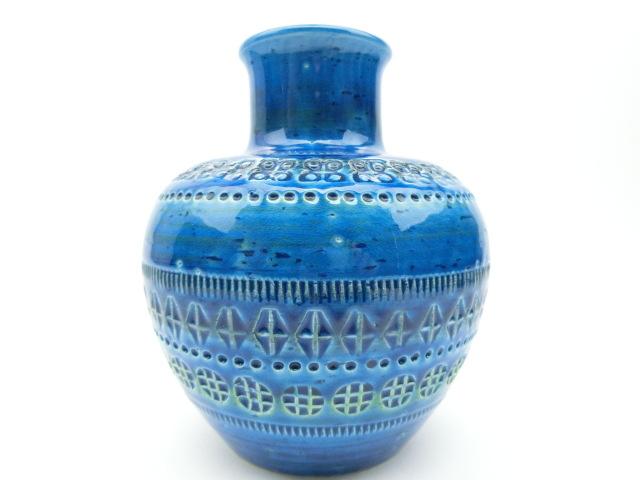 イタリア ビトッシ社製陶器 花瓶 F92
