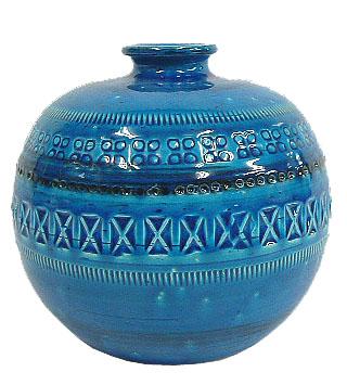 ビトッシ リミニブルー  F79 花瓶