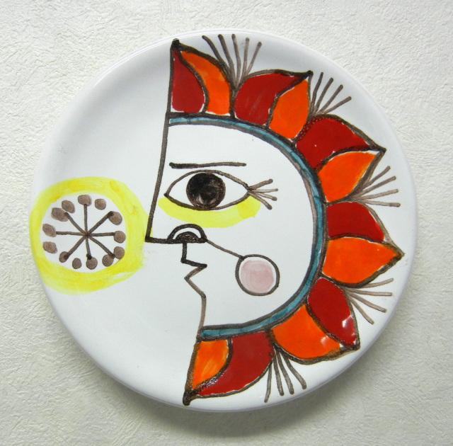 絵皿:スザンナ・デ・シモーネ