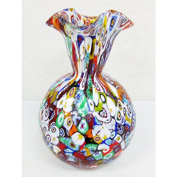 ヴェネチアン ムラーノ花瓶  MC28B