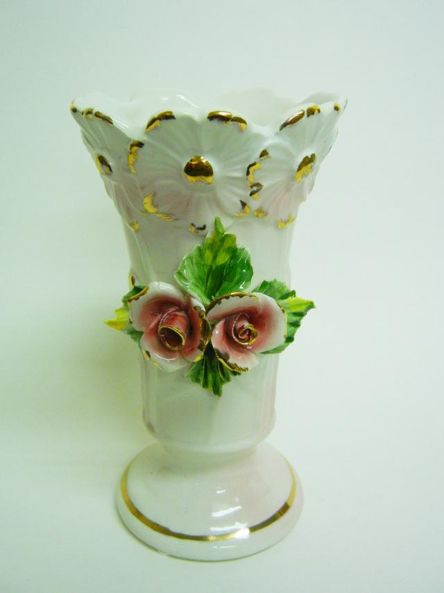 花瓶 6014RV  カポディモンテ陶器   バッサーノ