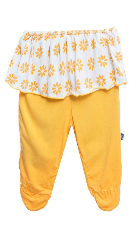 【キッキー パンツ】フッティーパンツスカート(サンフラワー)