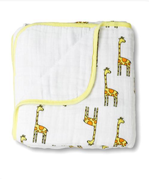 【エイデン+アネイ(Aden&Anais)】ドリームブランケット(jungle jam giraffe )