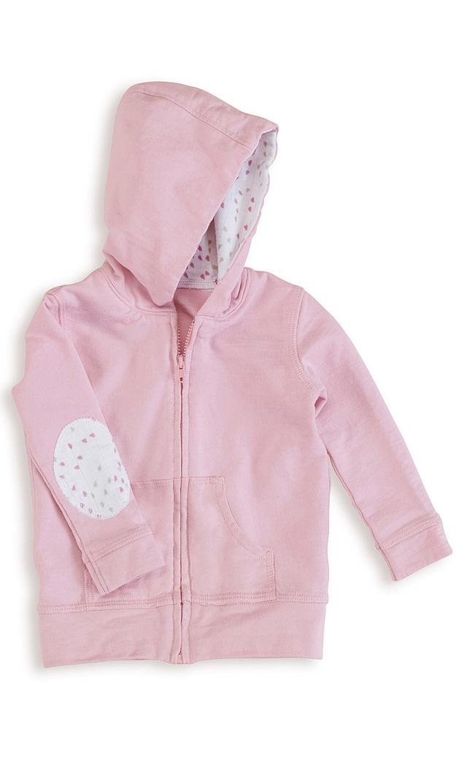 【エイデン+アネイ】コットンパーカー(lovely pink)/6ヶ月-12ヶ月