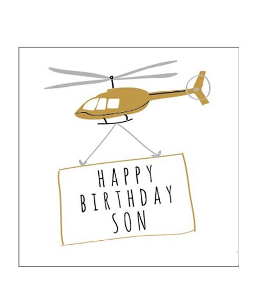 【ベリーボタン】Happy Birthday Son