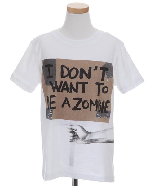 【デシグアル】メッセージTシャツ(ホワイト)