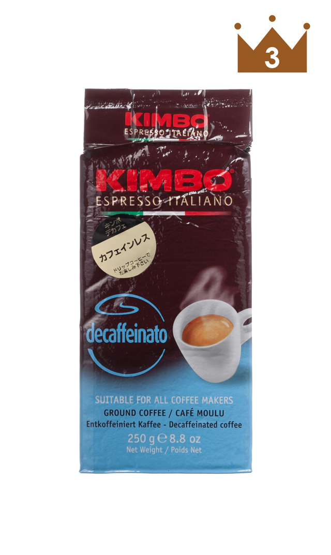 【KIMBO】カフェインレスレギュラーコーヒー