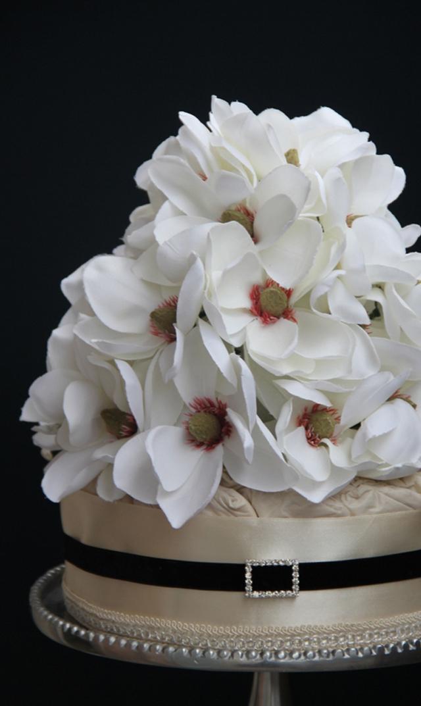 【ラクーシュ(LA couche)】ダイパーケーキ1段(Magnolia)