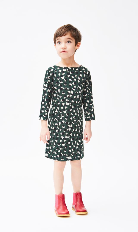 【Little LEOTA(リトルレオタ)】ヌーヴォードレス(グリーンフリンジハンター)2-6歳