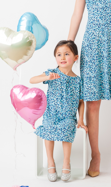 【リトルレオタ(Little LEOTA)】ポケットドレス(ミスティメイ)2-10歳