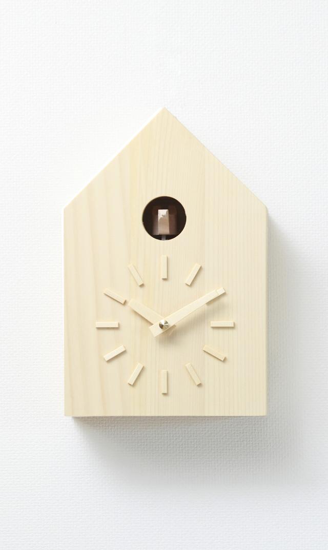 【モア・トゥリーズ】鳩時計(トドマツ)