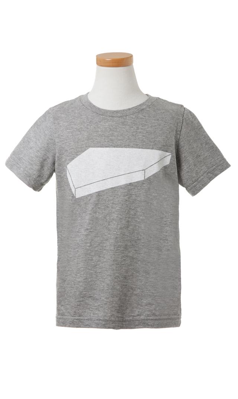 【ザパークショップ】ホームベースTシャツ(グレー)